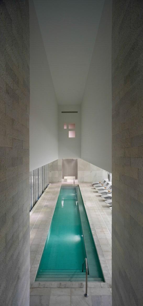 Co-ed pool