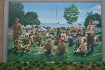 USA floodwall-murals