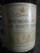 la chance au roy Bourgogne
