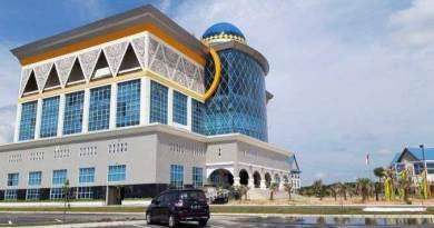 Komplek perkantoran Wali Kota Pekanbaru