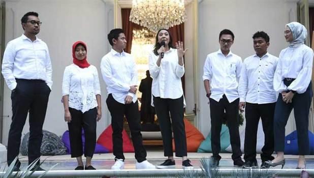 Stafsus milenial Jokowi