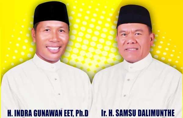 Indra Gunawan Eet dan Samsu Dalimunte