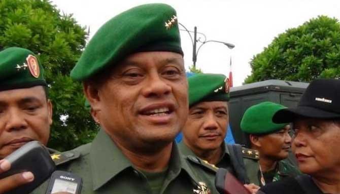 Mantan Panglima TNI Jenderal (Purn) Gatot Nurmantyo.
