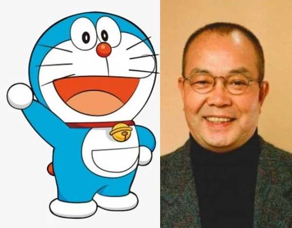 Tomita Kosei pengisi suara Doraemon