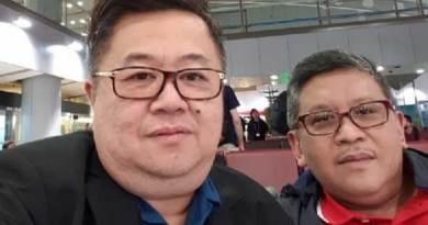 Darmadi Durianto bersama Sekjen PDIP Hasto Kristiyanto