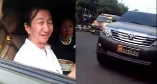 Etnis Tionghoa pakai mobdin TNI