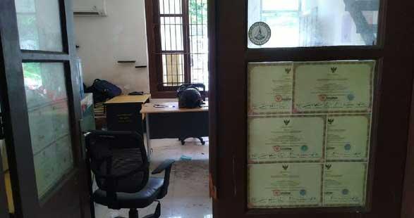 Sekretariat PII diobrak-abrik polisi