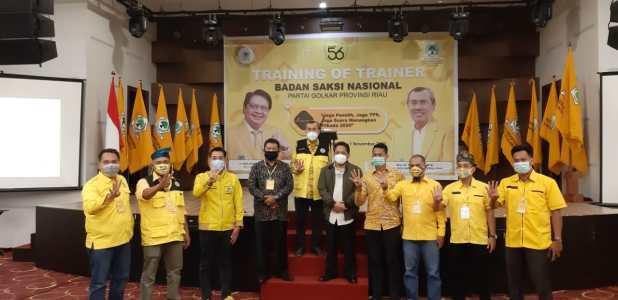 Ketua DPD I Golkar Riau, Drs Samsuar