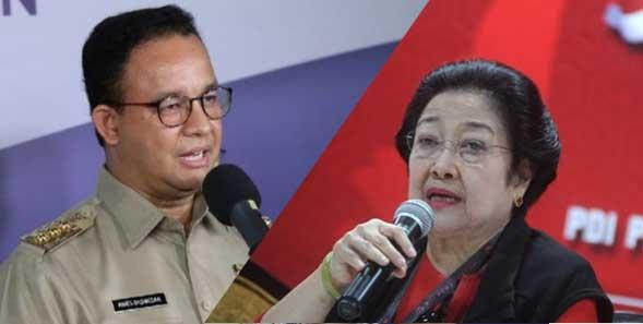 Anies Baswedan dan Megawati