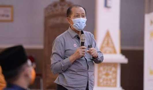 Ketua Ahli Epidemiologi Riau, dr Wildan Asfan Hasibuan