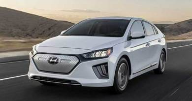 Mobil listrik Hyundai Ioniq.