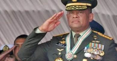 Jenderal (Purn) Gatot Nurmantyo.