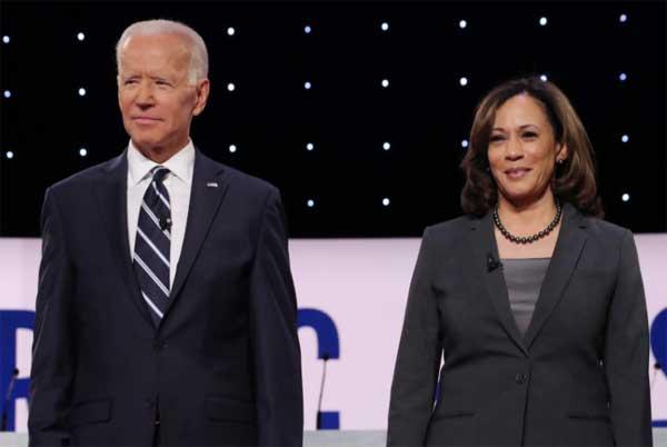 Joe Biden dan Kamala Haris.