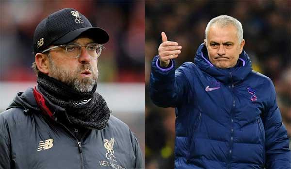 Jurgen Klopp dan Jose Mourinho