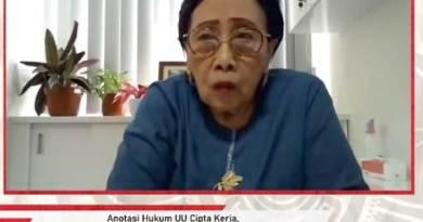 Guru Besar Pertanahan UGM Prof Dr Maria SW Sumardjono.