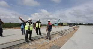 Pembangunan ruas jalan tol Pekanbaru-Bangkinang