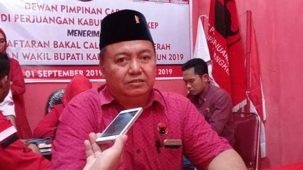 Ketua PDI Perjuangan Kabupaten Pangkep Abdul Rasyid