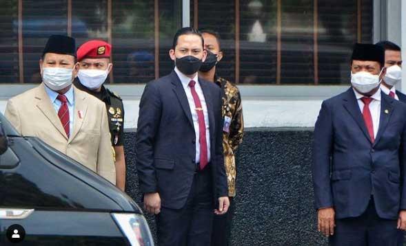 Ajudan Prabowo Subianto, Rizky Irmansyah.