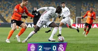 Shakhtar Donetsk vs Real Madrid