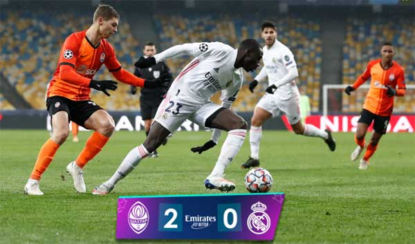 Shakhtar Donetsk vs Real Madrid