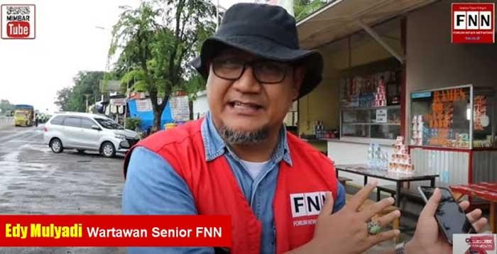 Wartawan FNN Edy Mulyadi