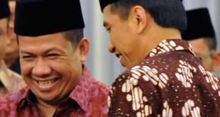 Fahri Hamzah bersama Presiden Joko Widodo