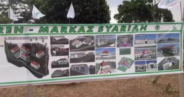 Lahan Pondok Pesantren Markaz Syariah
