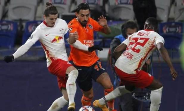 RB Leipzig menang 4-3 atas Istanbul Basaksehir.