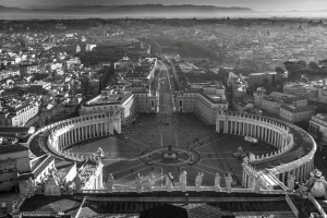 View from St Peter's Basilica