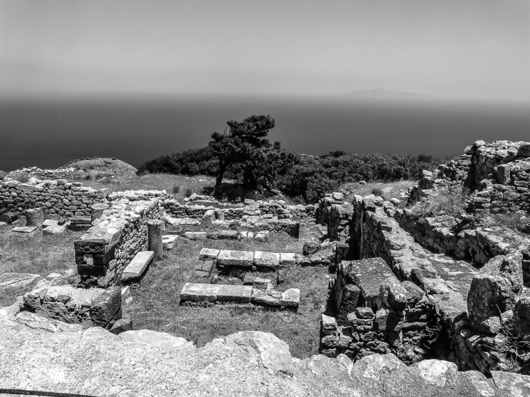 Ancient Thera ruins