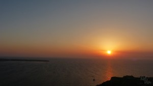 Sunset sunset Oia - RiA Vistas