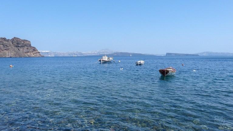 Thirasia dock