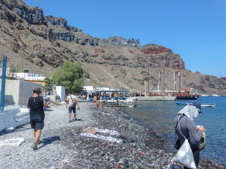 Thirasia shore - Santorini