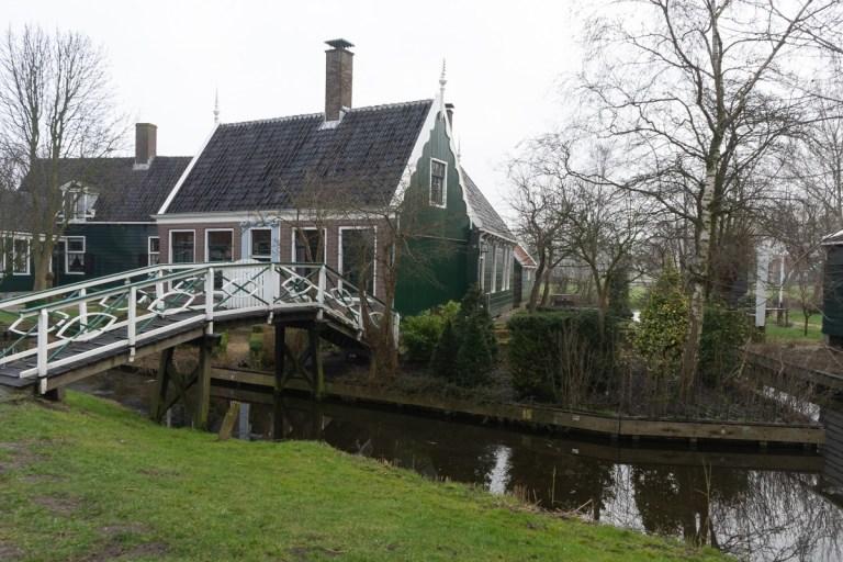 Zaanse Schans - bridge to homes