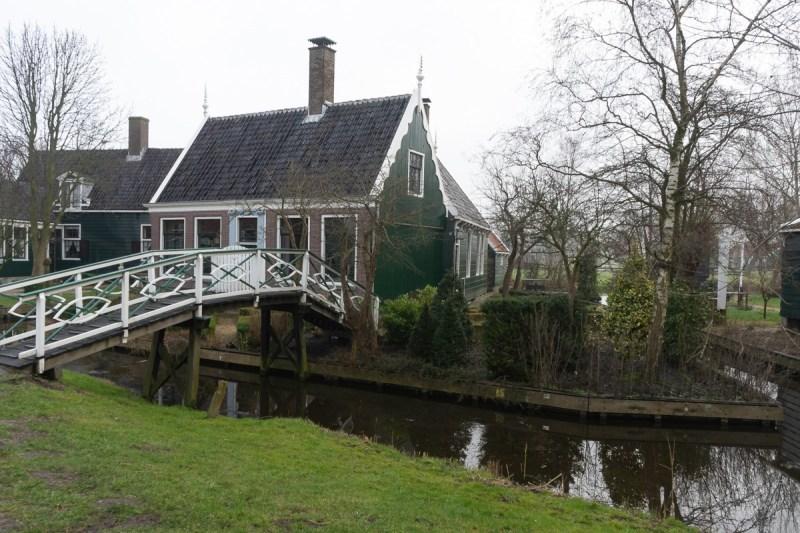 Zaanse Schans - bridge to home