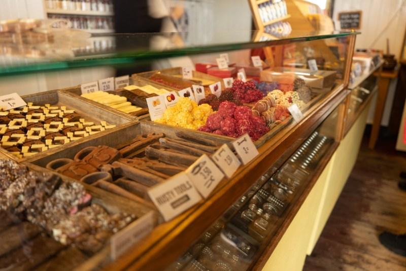 Chocolate at Zaanse Schans - Amsterdam