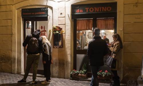 Da Tonino – a traditional trattoria in Rome