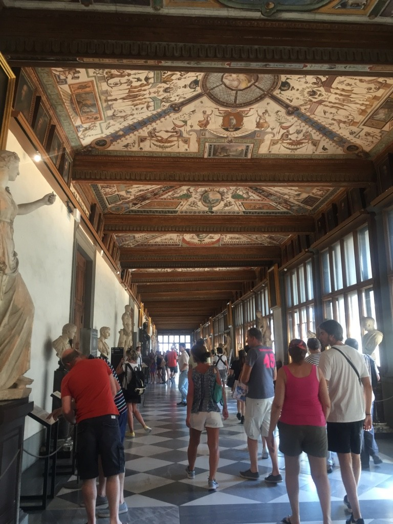 The start - Uffizi Gallery