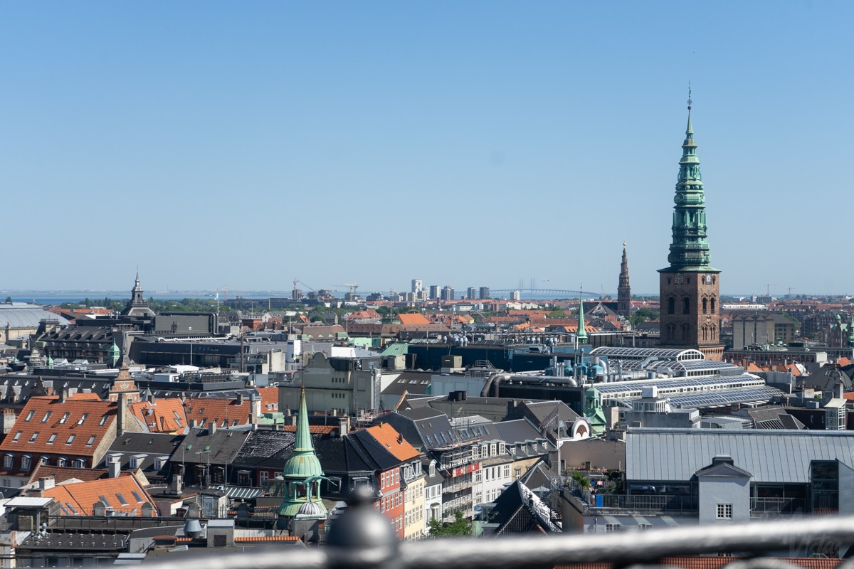 View from The Round Tower - Copenhagen