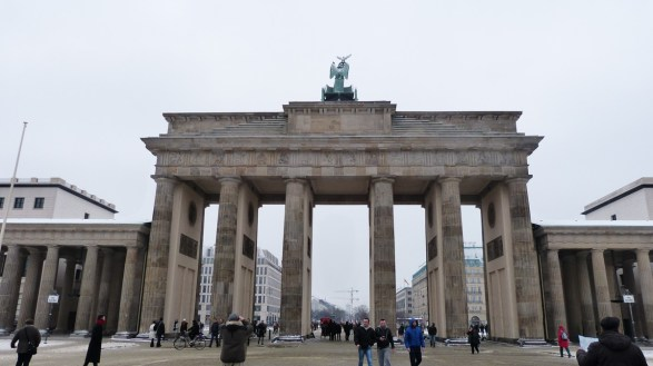 Brandenburg Gate - Berlin 2017