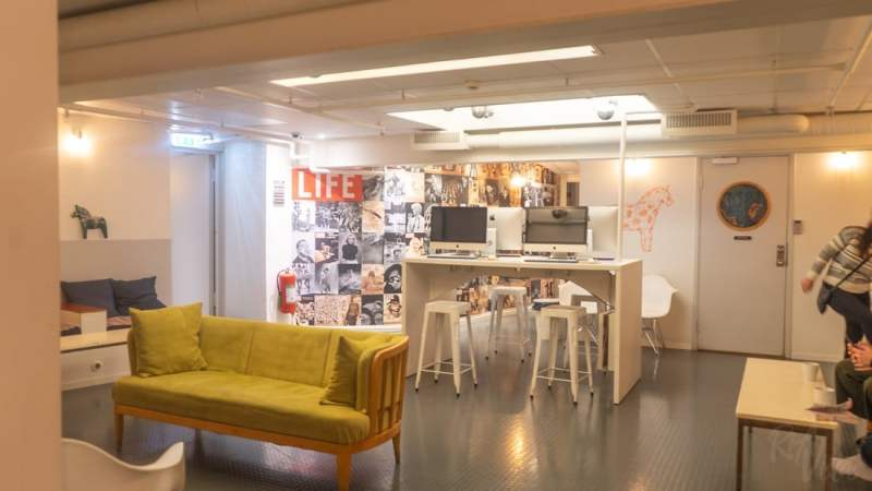 Common area - City Backpackers Hostel