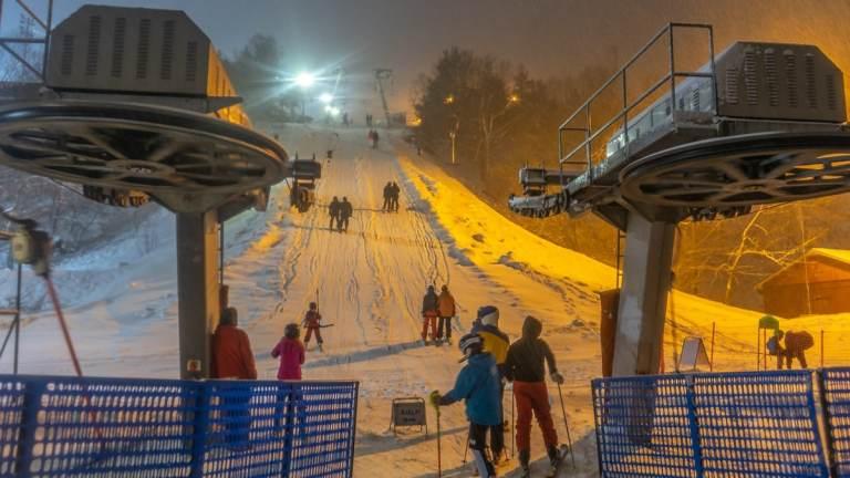 Hammarbybacken - ski lift to advanced slopes