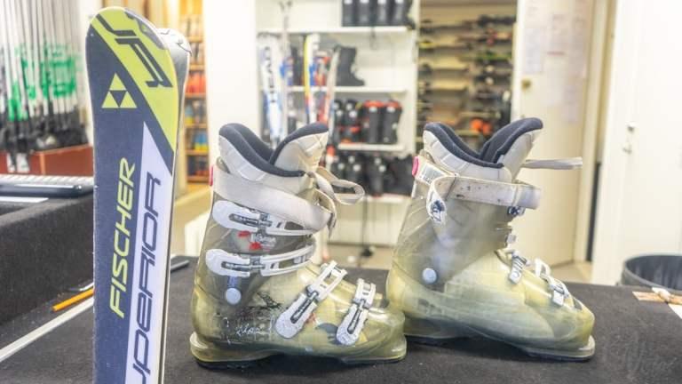 My ski boots - Hammarbybacken