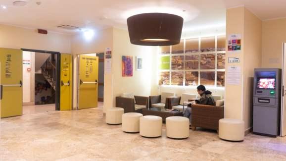 Plus Florence Reception area