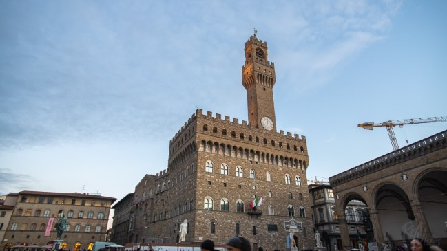 Tower Vecchio Florence Italy