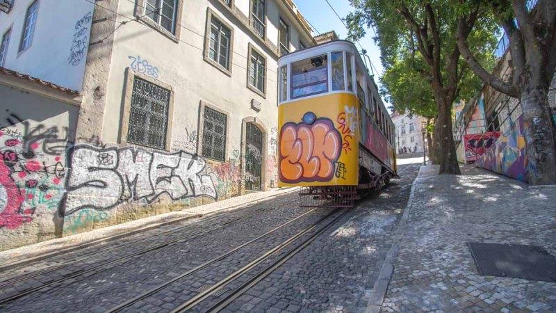 Ascensor da Glória - Lisbon