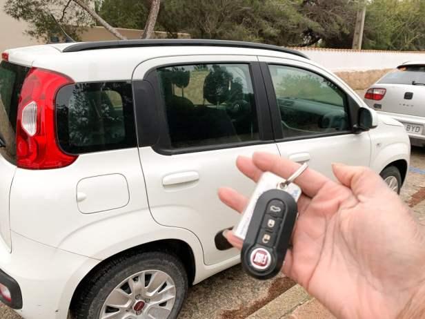 My hire car - Formentera_RiA Vistas
