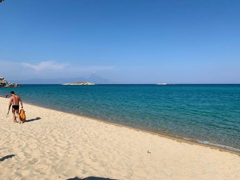 Kriaritisi beach Sithonia