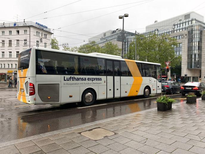 Lufthansa Airport Express Bus Munich
