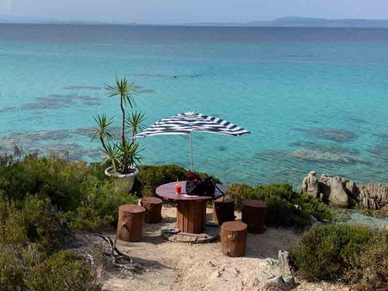 Table with a view - Portokali beach